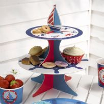 Ahoy There Cup Cake Stand